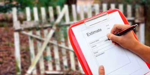 PVC Vinyl fence installation estimate