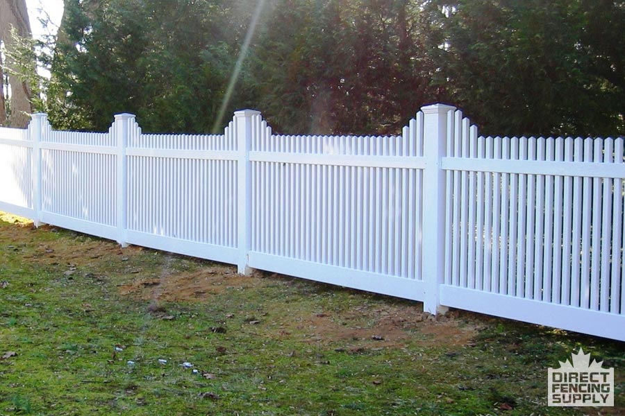 Classic half fence installation Kamloops, BC