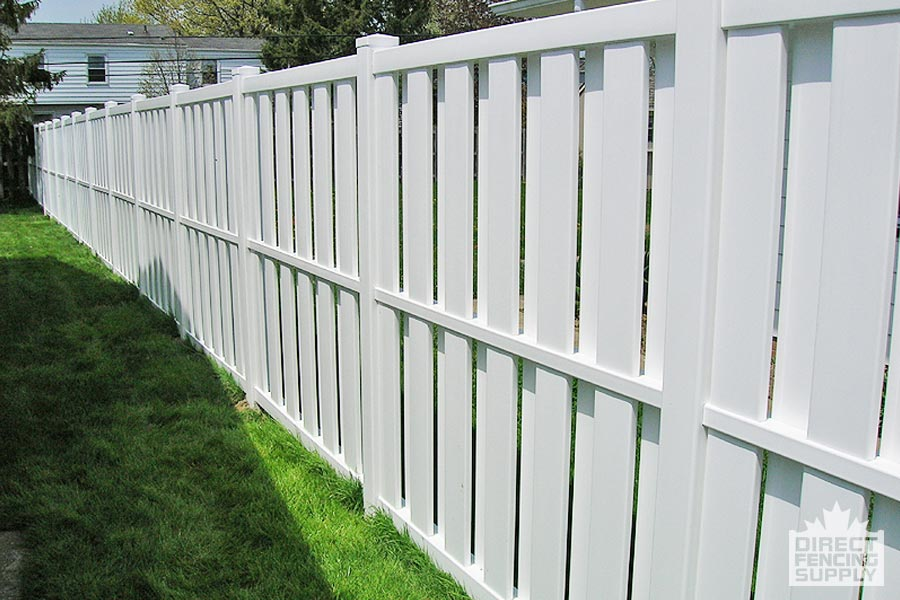 Semi Privacy Vinyl Fence Direct Fencing Supply