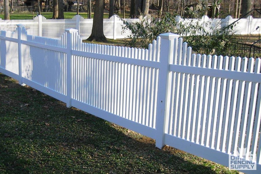 Maintenance-free vinyl fencing supplier USA