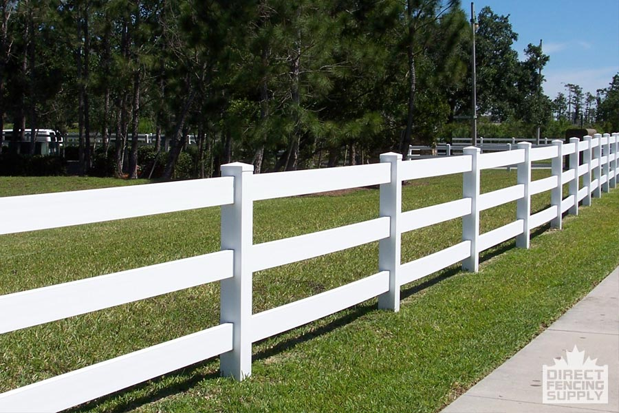 Ranch Rail Vinyl Fence Direct Fencing Supply