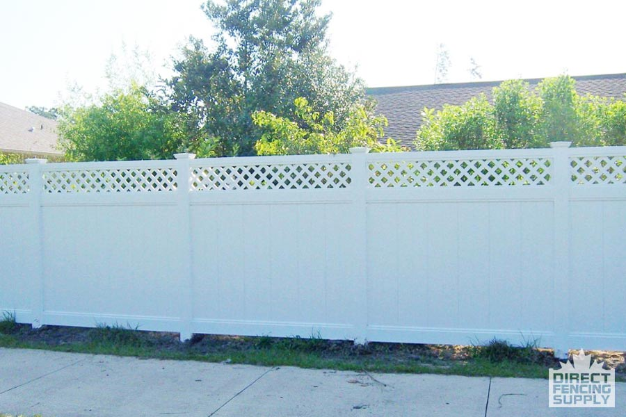 Vinyl fence panels for sale Ontario