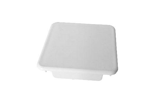 Flat top vinyl picket cap