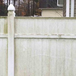 How to clean PVC vinyl fence