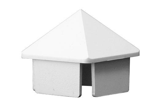 Vinyl fence spike picket cap