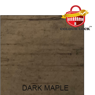 Dark Maple Vinyl Fence Color