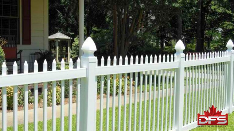 Birchwood I Vinyl Picket Fence