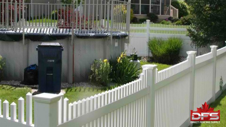 Birchwood II Vinyl Picket Fence
