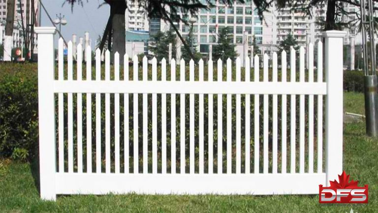 Birchwood III Vinyl Picket Fence