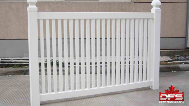 Clearview Vinyl Pool Fence