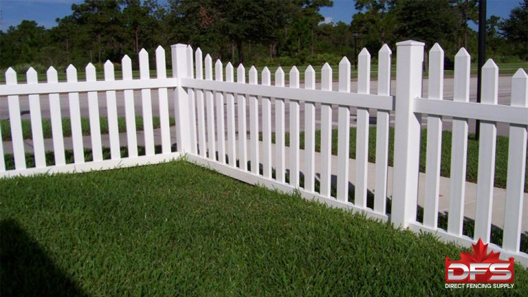 Cloverdale II Vinyl Picket Fence