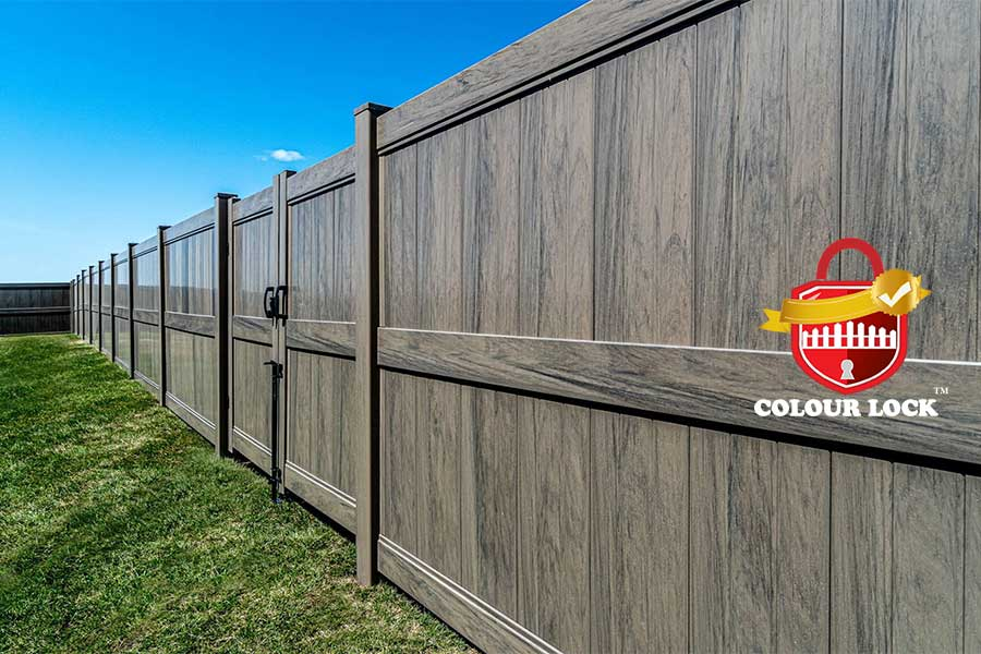 Direct Fencing Supply Colour Lock best vinyl fence manufacturers