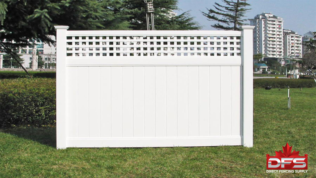 Cypress Vinyl Privacy Fence