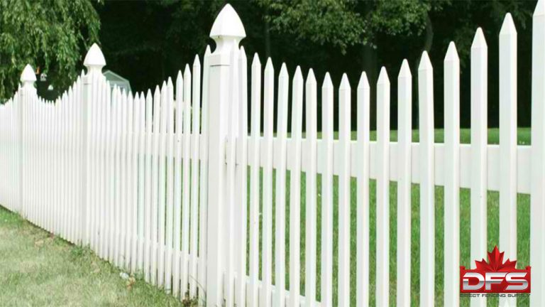 Elms Gate II Vinyl Picket Fence