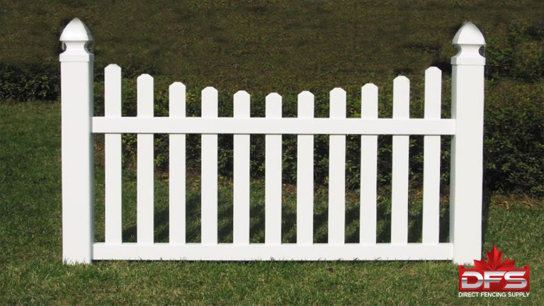 Evergreen II Vinyl Picket Fence