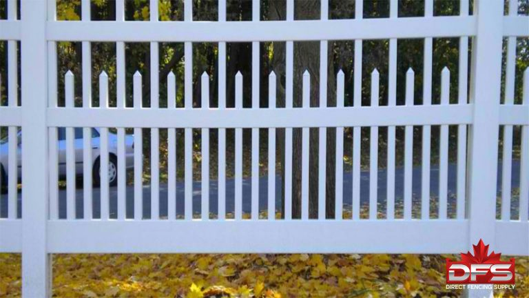 Ferndale Vinyl Picket Fence