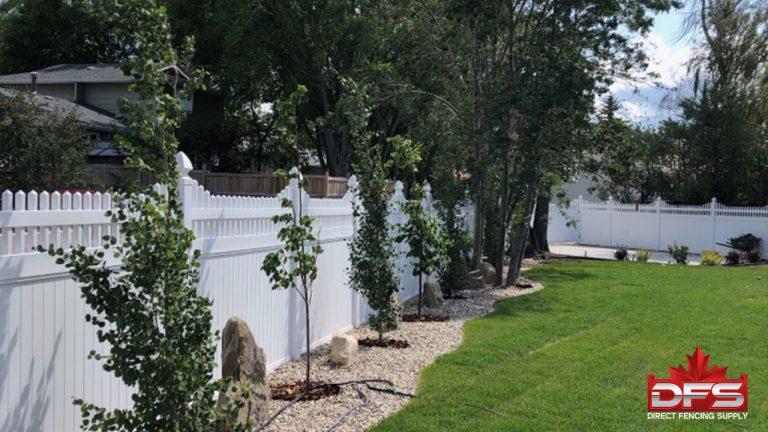 Hadfield Vinyl Privacy Fence