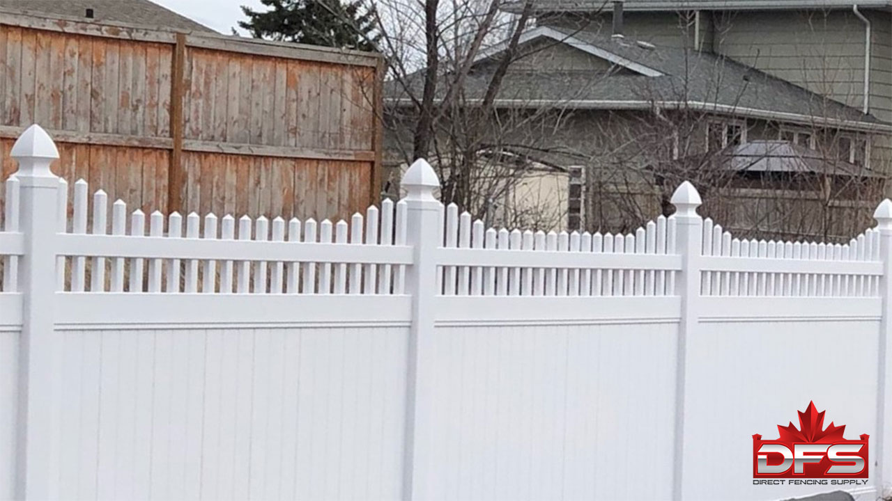 Hadfield Vinyl Privacy Fence