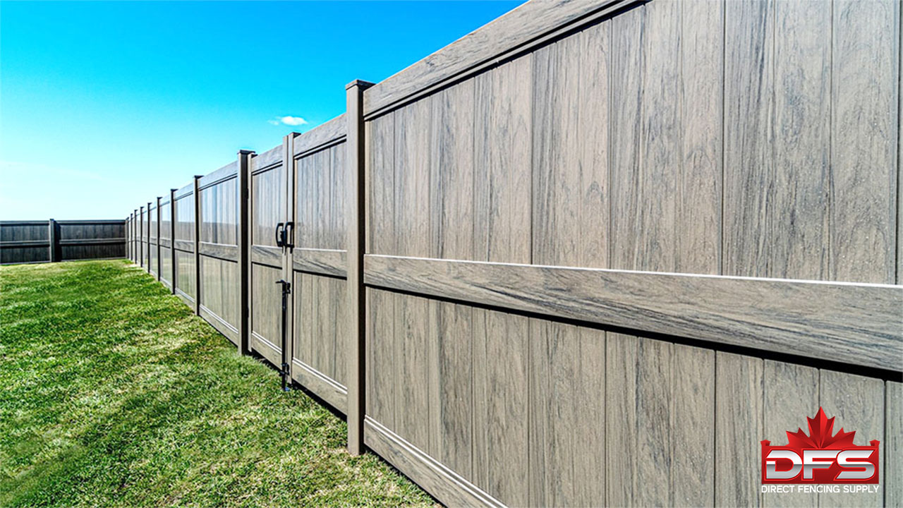 Jasper Vinyl Privacy Fence
