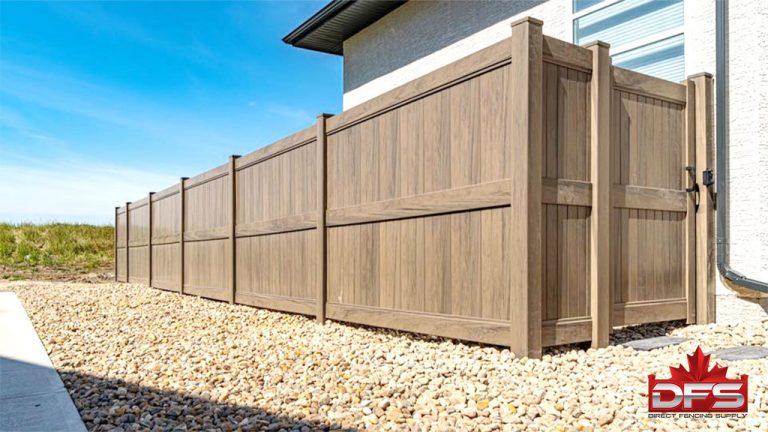 Jasper Vinyl Privacy Fence