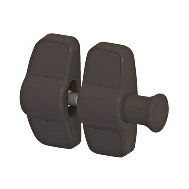 steel fence products magnetic pull latch
