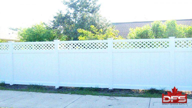 Niagara Vinyl Privacy Fence