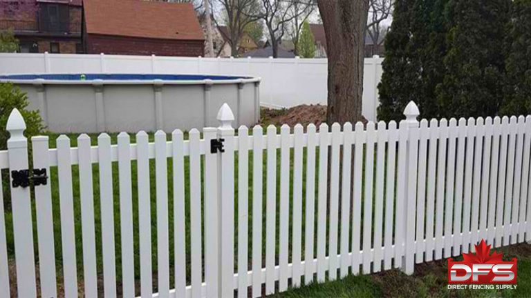 Oakside I Vinyl Picket Fence