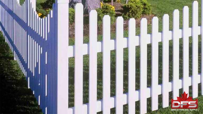 Oakside II Vinyl Picket Fence