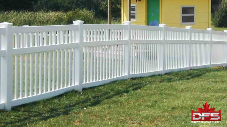 Clearbrook Vinyl Pool Fence