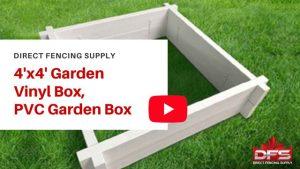 vinyl calgary pvc garden box YouTube thumbnail