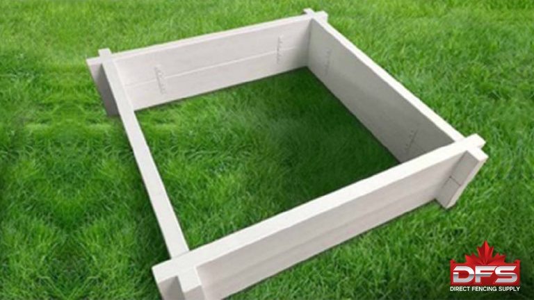 fencing products - 4x4 Garden Box