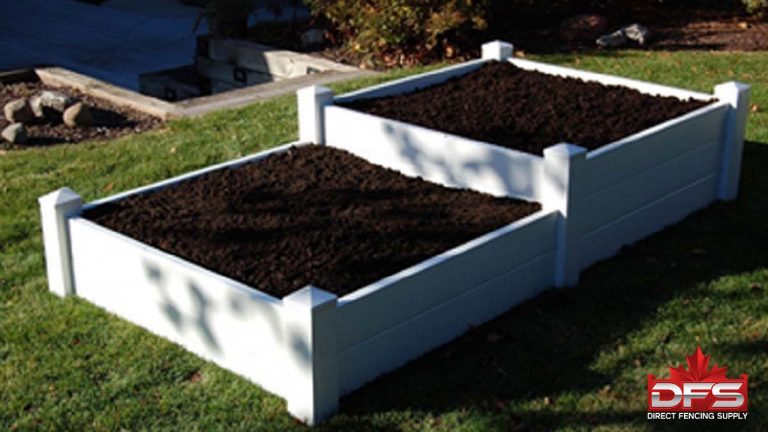 fencing products - pvc Garden Box