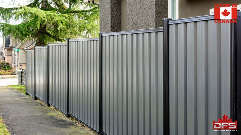Privacy Metal Fence