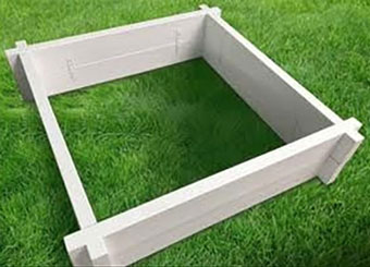 fencing products - vinyl garden box kits