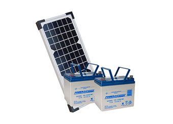 fencing products for gate openers - solar kits