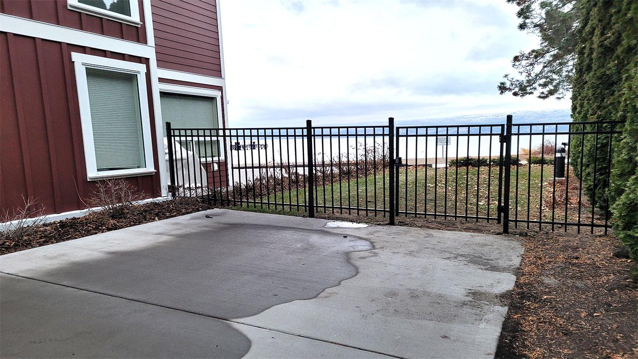 Saskatoon metal fence panels
