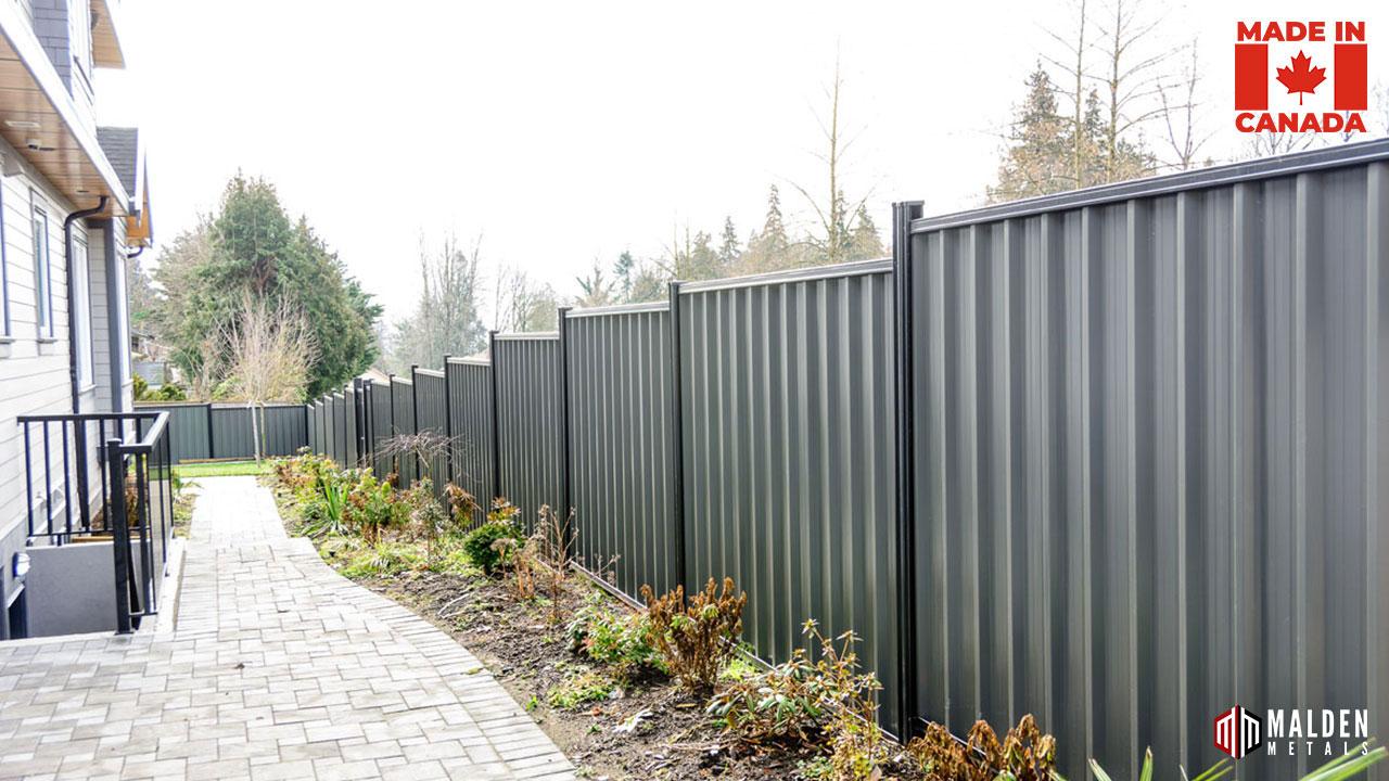 Colour bond fence  Armor Guard fence