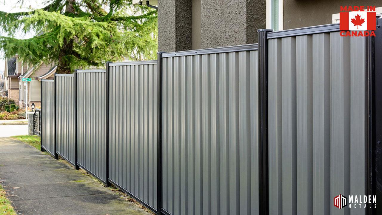 Regina metal fence