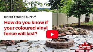coloured vinyl fence YouTube thumbnail