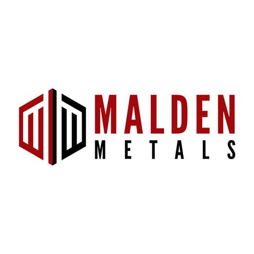 metal fence company malden metals logo