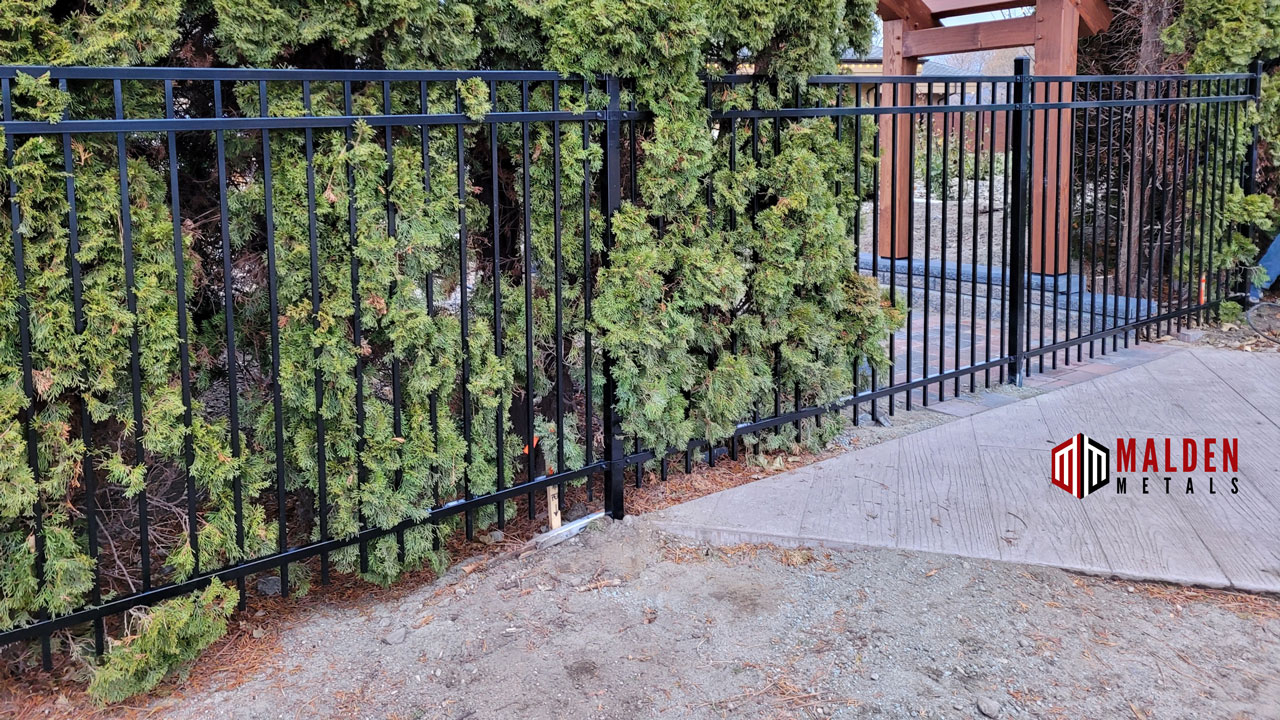 fence company malden metals ornamental fence
