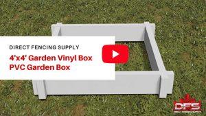best vinyl fence manufacturers pvc garden bed YouTube thumbnail