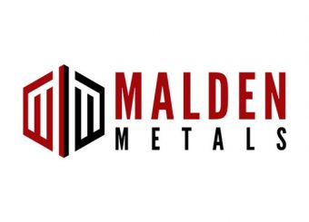 metal fence company malden metals logo